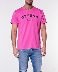 Defend Tee Hot Pink