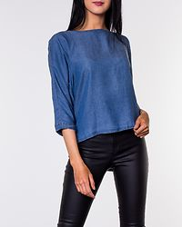 Jazzy Top Dark Blue Denim