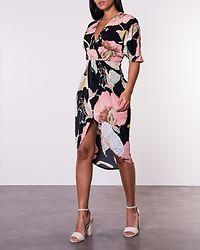 Chelsea Midi Dress Flower Print