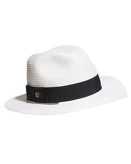Fedora Hat Black/White