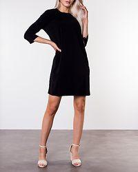Nathalia 3/4 Sleeve Dress Black