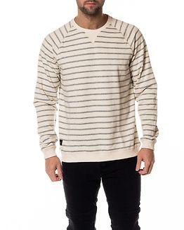 Breakwater Sweatshirt Ecru Navy