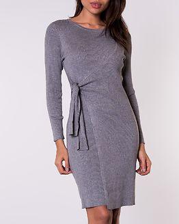 Elizabella Knitted Dress Grey Melange