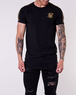 Gold Edit Runner Gym Tee Black