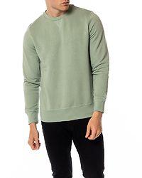 Jonest Crew Neck Sweatshirt Mint Green/ Ecru Marl
