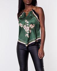 Marinela Scarfs Halterneck Black/Green/Floral