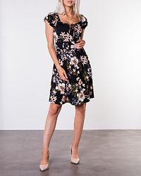 Tessan Dress Black/Patterned