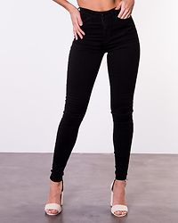 Amy Push Up Jeans Black