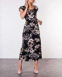 Tessie Maxi Dress Black/Patterned