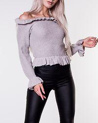 Eliana Knitted Sweater Light Grey