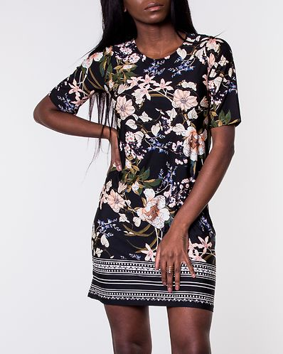 225b1b1528efc6 Blenda Dress Black Patterned