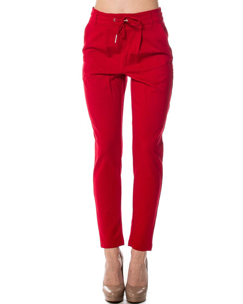 Vendable Vente En Ligne Only Poptrash Pants Women Red Prix Bon Marché Fiable 15c9SSAa