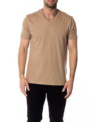 Saint V-Neck T-Shirt Khaki