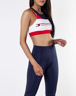 Sports Bra Logo Mid True Red