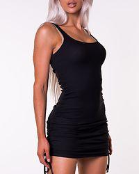 Stine Rouching Dress Black