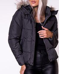North Nylon Jacket Black