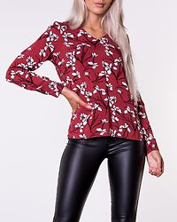 Adele Blouse Cinnamon/Patterned