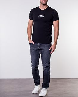 2-Pack T-Shirt Black/ Black