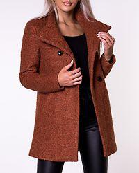 Sophia Boucle Wool Coat Ginger Bread/Melange