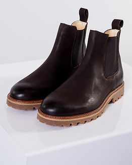 District Boot Brown