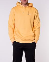 Trim Hooded Sweatshirt Yellow