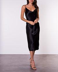 Jean Slip Dress Black