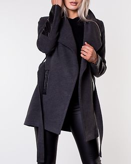 Cala 3/4 Jacket Dark Grey Melange/PU