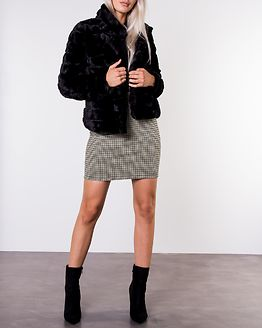 Farry Short Jacket Black