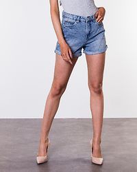 Lola Mom Shorts Light Blue Denim