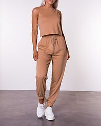 Chilli Summer Cropped Top Cuban Sand