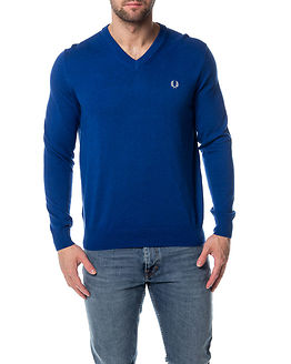 Classic V-Neck Royal Marl