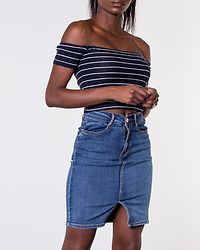 Bianca Superstretch Skirt Medium Blue