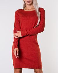 Ril Knit Dress Ketchup/Melange