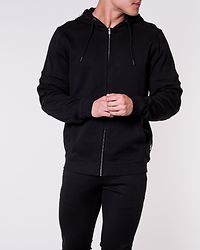 Fisher Sweat Zip Black