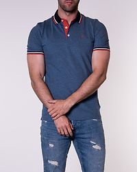 Paulos Polo Denim Blue/Slim Fit