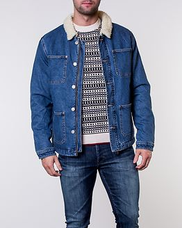 Hank Jacket Blue Denim