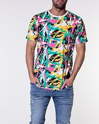 Tee Multiprinted Pink/Mint