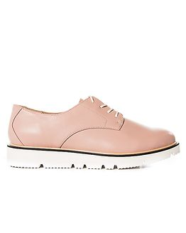 Laced Up Shoe Light Pink