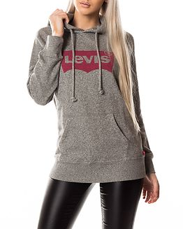 Graphic Sport Hoodie Grey