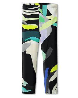 Leggins Elo / Kerällä Black-Colourful