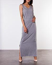 Rebecca Ankle Dress Light Grey Melange
