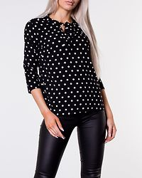 Reese Dotted Shirt Black/White