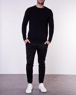 Eliam Knit Crew Neck Black