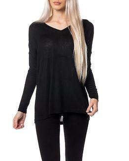 Becca Loose V-Neck Knit Black