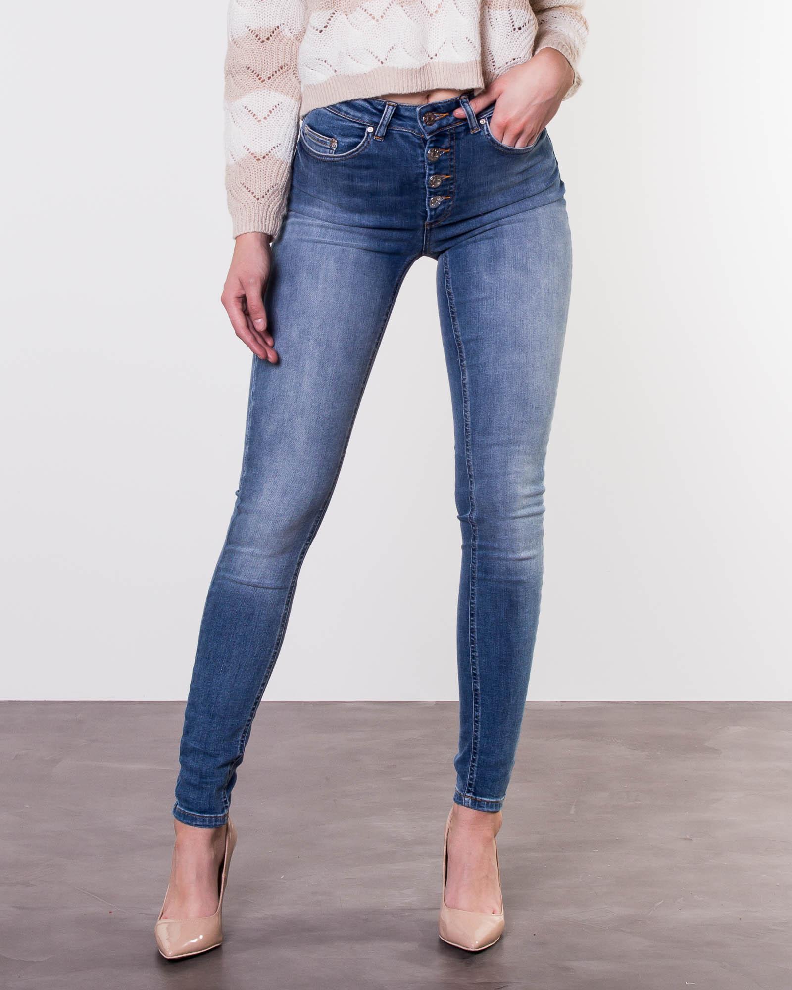 0b7e718fd7 Only, Blush Button Jeans Light Blue Denim | Pants | HOUSEOFBRANDON.COM