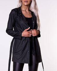 Shelby Belt Raincoat Black