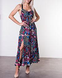 Carissa Macrame Maxi Dress Crazy Tropical