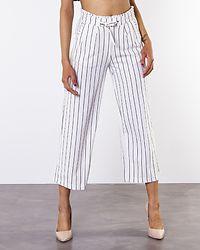Catia Treats Wide Ankle Pants Cloud Dancer/Stripe