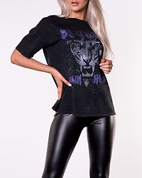 Ida Hero Top Black/Wash And Print