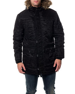 Date Parka Jacket Black